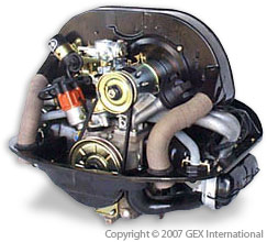 Vw Beetle Engine Engine Long Block 1600cc Dual Port Beetle Type I