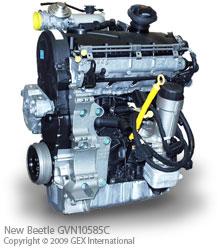 rebuilt vw  beetle engines