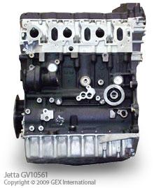 GEX International New & Rebuilt VW Jetta Engine